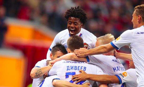ЦСКА одержал победу над «Тамбовом» в девятом туре РПЛ